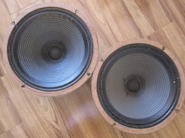1975 VINTAGE CELESTION T1221 PULSONIC CONE PAIR