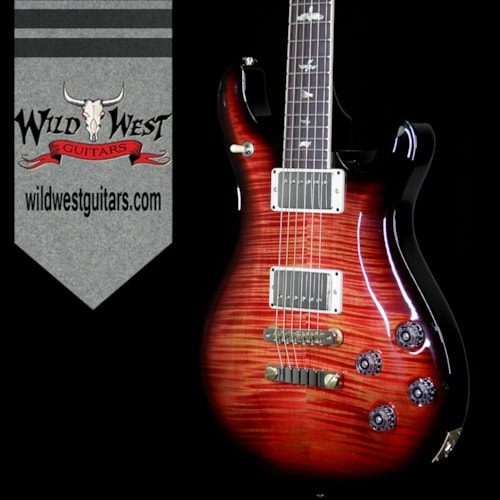 2017 PRS - Paul Reed Smith PRS Paul Reed Smith Flame Maple 10 Top McCarty 594 Rosewood Fretboard Blood Orange Smokeburst