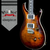2017 PRS - Paul Reed Smith PRS Paul Reed Smith Flame Maple Top Custom 24 Rose