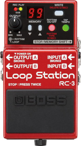 2017 BOSS RC-3 LOOP STATION PEDAL