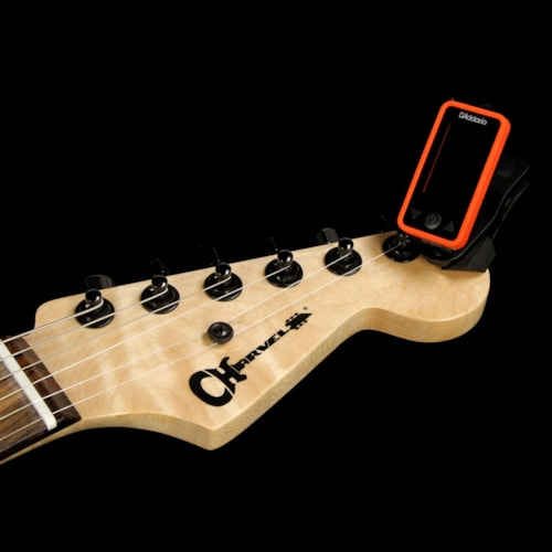 Planet Waves Eclipse Digital Guitar Headstock Tuner Red