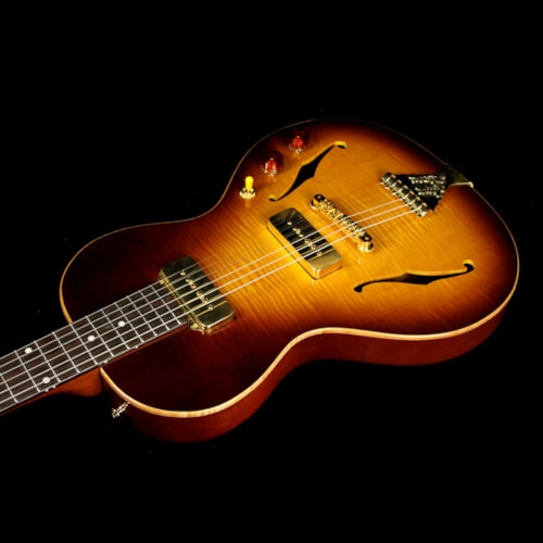 2016 B&G Guitars Used 2016 B&G Guitars Little Sister Crossroads™ Electric Guitar Tobacco Burst