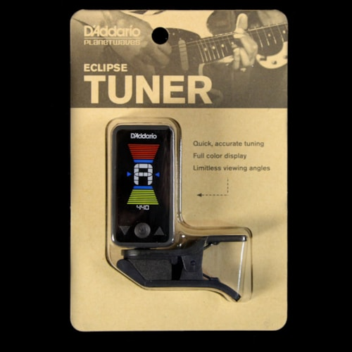 Planet Waves Eclipse Digital Guitar Headstock Tuner Black