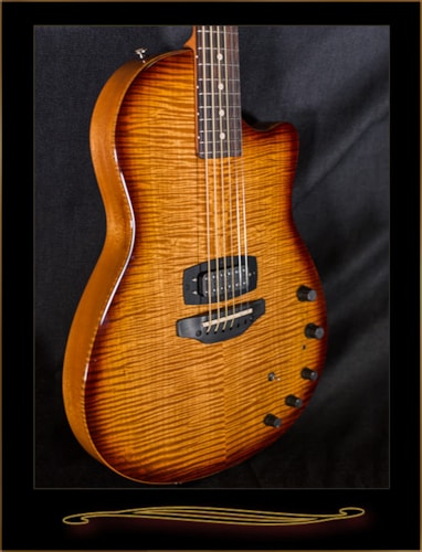 Tom Anderson Crowdster Plus with Caramel Maple Top