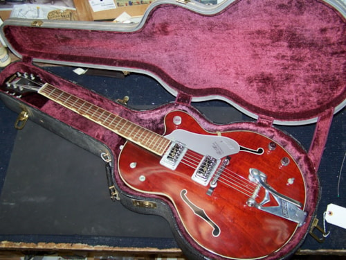 ~1960 Gretsch® Chet Atkins Tennessean Hard Case (CASE ONLY)