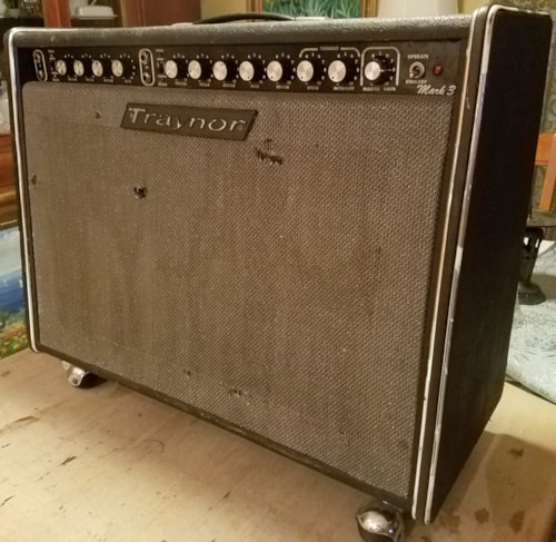 Traynor YGL-3 Mark 3 Tube Hand Wired Vintage 70's Guitar Amp 212