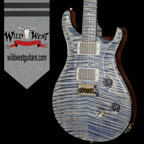 2016 PRS - Paul Reed Smith PRS Private Stock PS6151 Flame Custom 24 Stained Flame Maple Neck and Fretboard Triple Faded Indigo