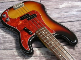 1995 Fender Japan 1962 Reissue Precision Bass Foto Flame
