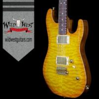 2017 LSL Instruments LsL XT2 Deluxe HH Quilt Maple Top and Roasted Quar
