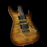 2011 Tom Anderson Used 2011  Drop Top Electric Guitar Light Tiger Ey