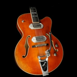 EASTMAN T58/v Archtop Electric Guitar Antique Amber