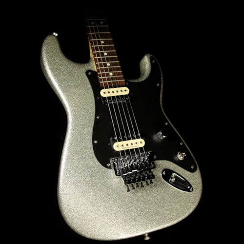 Charvel Used 2013 Charvel Super SD1 FR SoCal Electric Guitar Silver Sparkle