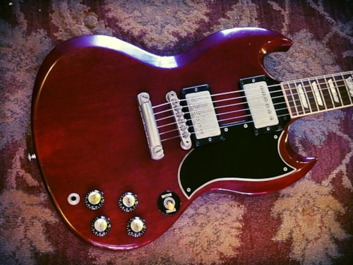 1986 Gibson SG '62 Reissue, Shaw Pickups