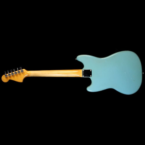 1965 Fender Used 1965 Fender Mustang Electric Guitar Daphne Blue