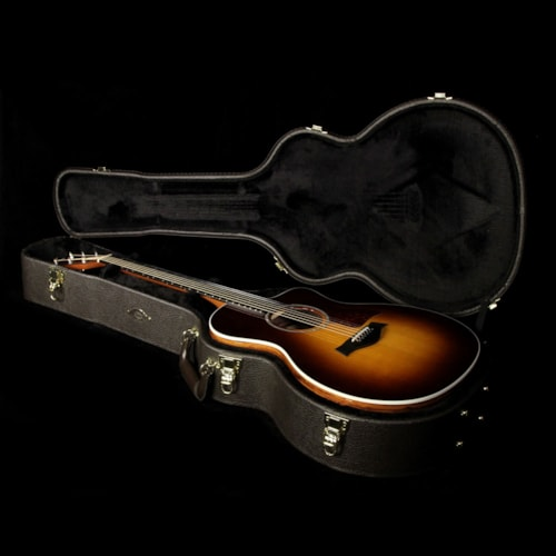 Taylor Used Taylor 214ce Deluxe Grand Auditorium Acoustic/Electric Guitar Sunburst