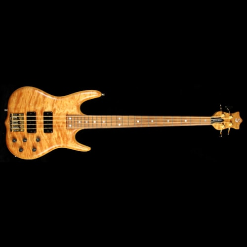 1996 Ken Smith Used 1996 Ken Smith M-Series 4-String Electric Bass Guitar Natural