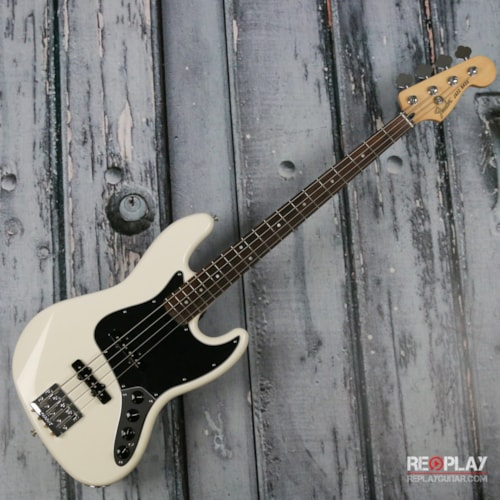 Fender Deluxe Active Jazz Bass - Olympic White