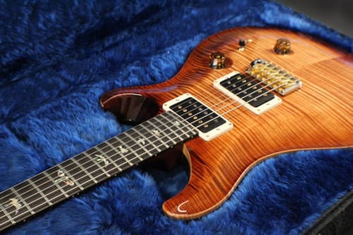 2017 PRS (Paul Reed Smith) Custom 24 Artist Package, Flame Maple Neck