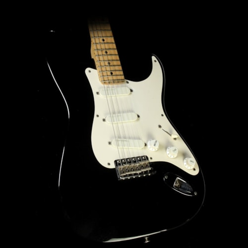 "1992 Fender Used 1992 Fender Eric Clapton Signature ""Blackie"" Stratocaster Electric Guitar"
