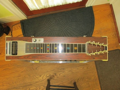 1972 Emmons S-10 Push Pull Pedal Steel