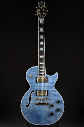 Heritage H-155M - Faded Blue Translucent/Ultra Tiger Top/HandSelected