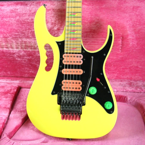 1990 Ibanez 1990 Ibanez JEM 777 DY! Desert Sun Yellow w/ OHSC! JEM777DY Excellent Condition! Rare Model!