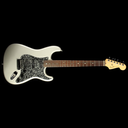 2004 Fender Used 2004 Fender American Deluxe Stratocaster Electric Guitar Chrome Silver