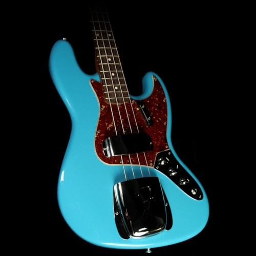 Fender Custom Shop '64 Jazz Bass Roasted NOS Electric Bass Faded Taos Turquoise