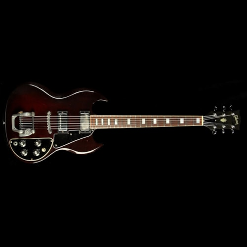 Gibson Used 1970s Gibson SG Deluxe Electric Guitar Cherry