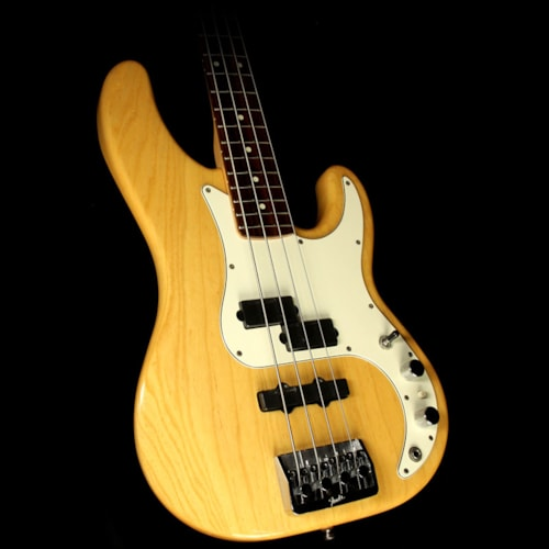 1999 Fender Used 1999 Fender Precision Plus Electric Bass Guitar Natural