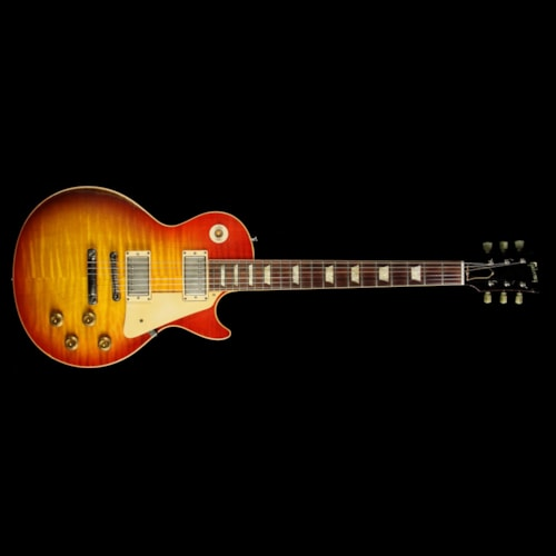 2008 Gibson Custom Shop Used 2008 Gibson Custom Shop Murphy Aged Historic 1959 Les Paul Electric Guitar Washed Cherry