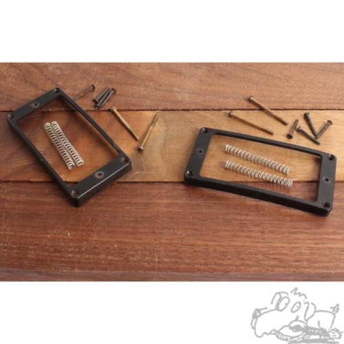 1971 Gibson Pickup Rings with screws and springs