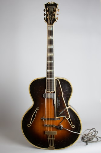 """D'Angelico Excel Owned and played by Eddie Wilson """"The Vagabond Drifter"""