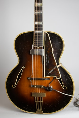 "1937 D'Angelico Excel Owned and played by Eddie Wilson ""The Vagabond Drifter"