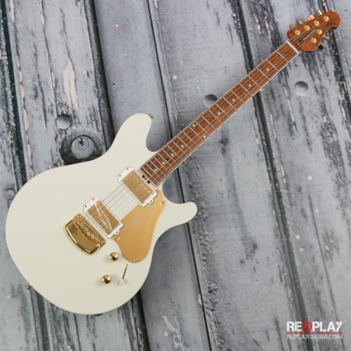2017 Ernie Ball Music Man  Valentine Limited - Ivory White