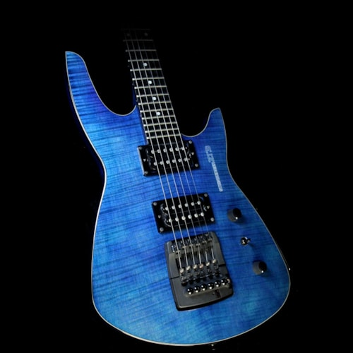 Steinberger Used Steinberger ZT3 Custom Electric Guitar Transparent Blue