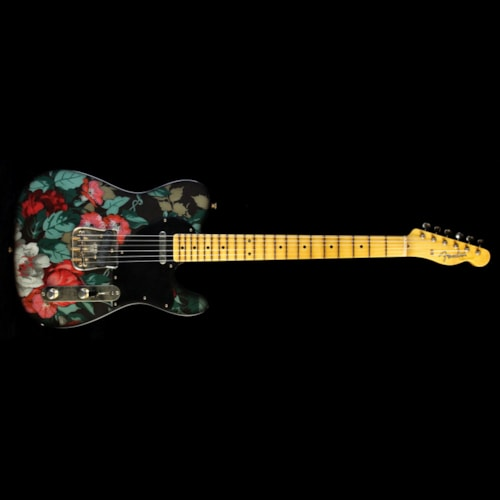 Fender Custom Shop Masterbuilt Yuriy Shishkov Retro Decor Telecaster Electric Guitar Flowers
