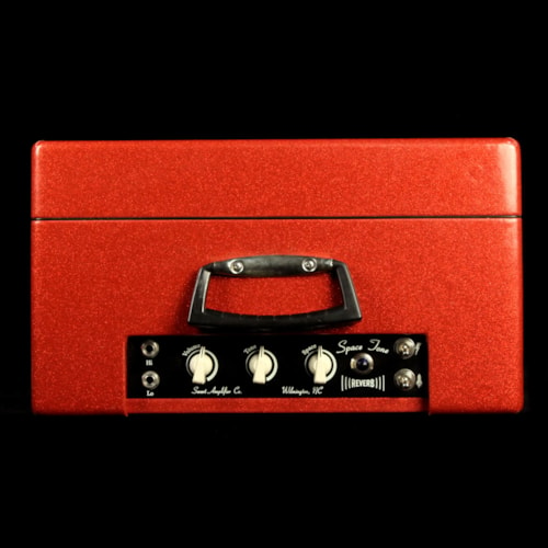 2007 Swart Used 2007 Swart Space Tone Reverb Combo Amplifier Red Sparkle