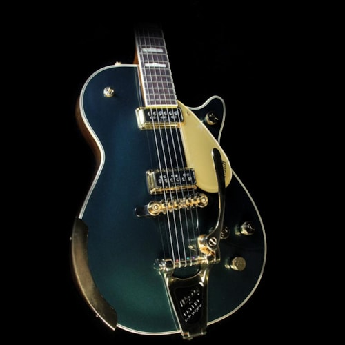 2017 Gretsch Used 2017 Gretsch G6128T-57 Vintage Select '57 Duo Jet Electric Guitar with Bigsby Green