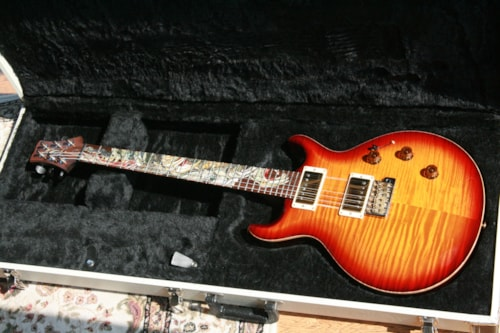 2009 Paul Reed Smith PRS 25th Anniversary DRAGON! 1 of 40! Smoked Amber! MINT! Paul Reed Smith Santana! 2010