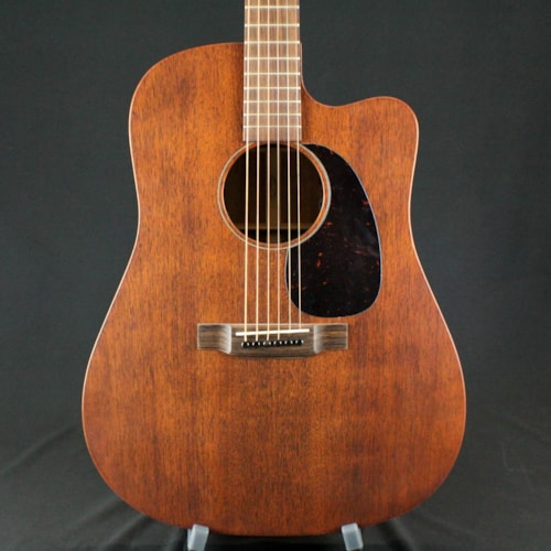 2017 Martin DC-15ME 15 Series All Mahogany Dreadnought AE