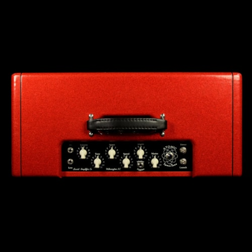 2012 Swart Used 2012 Swart Atomic Space Tone 2x10 Combo Amplifier Red Sparkle