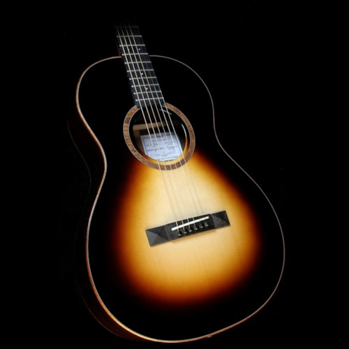 2014 Bedell Used 2014 Bedell Coffee House Parlor Acoustic Guitar Espresso Burst