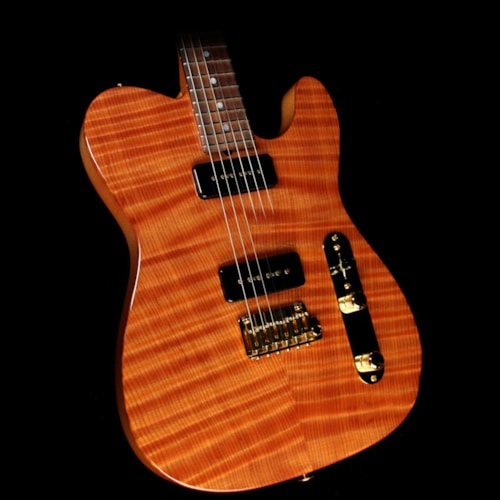 2010 Suhr Used 2010 Suhr Classic T Electric Guitar Natural Redwood Gloss
