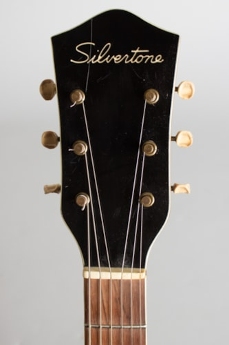 1957 Kay Silvertone Thin Twin Model 1369L