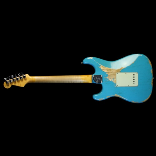 Fender Custom Shop '60 Stratocaster Relic Faded Taos Turquoise
