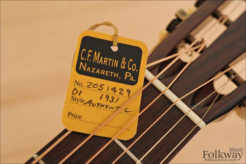 Martin D-1 Authentic 1931