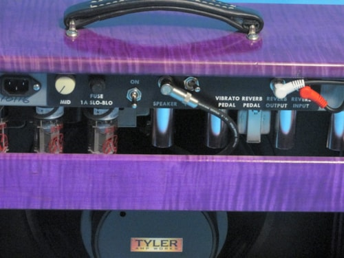 Tyler Ampworks JT-14 Combo Flamed Maple Cabinet
