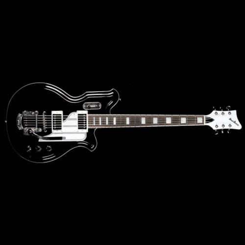 Airline Eastwood Airline Map Baritone DLX Electric Guitar Black