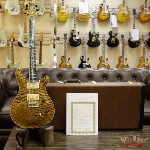 "2017 PRS - Paul Reed Smith PRS Private Stock PS6705 Custom 24 Quilt Maple Top Original ""Tree of Life"" Inlay Dirty Blonde"